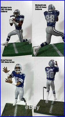 Custom McFarlane Ring of Honor Dallas Cowboys All 19 Players Lot Set