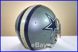 DALLAS COWBOYS Game USED WORN NFL Football Helmet RIDDELL PAC3 1975 #44