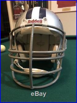 DALLAS COWBOYS NFL Authentic Riddell VSR-4 ProLine Full Football Helmet NJOPMask