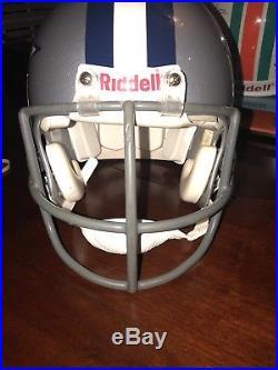 DALLAS COWBOYS NFL Authentic Riddell VSR-4 ProLine Full Size Football Helmet