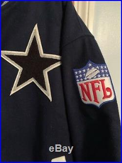 DALLAS COWBOYS Super Bowl Champion Mitchell & Ness Wool Jacket XXL 52 VERY RARE