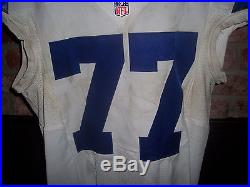 DALLAS COWBOYS TYRON SMITH HOME GAME USED / GAME WORN JERSEY With COWBOYS LETTER