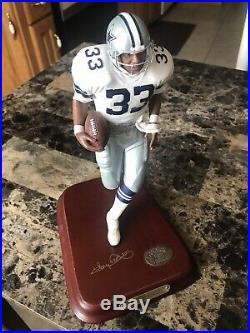 DANBURY MINT TONY DORSETT Figure Replica Statue Dallas Cowboys NFL Hall Of Fame