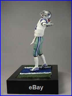 DEION SANDERS custom Mcfarlane figure DALLAS COWBOYS Home jersey helmet NFL