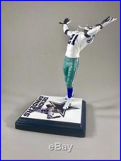 DEION SANDERS custom Mcfarlane figure DALLAS COWBOYS Jersey Helmet NFL COWBOY