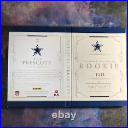 Dak Prescott 2016 National Treasures RPA Booklet /99 Cowboys