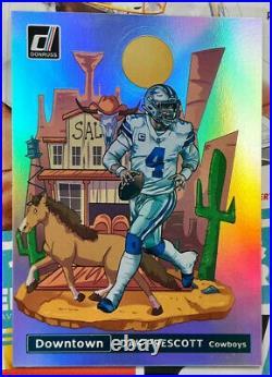 Dak Prescott 2021 Donruss Football DOWNTOWN Case Hit Cowboys SSP