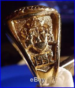 Dallas Cowboy Superbowl 27 XXVII Ring 10 KT GOLD SZ13 SIZEABLE W Appraisal