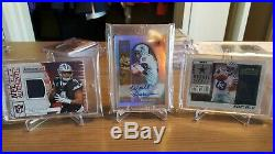Dallas Cowboys (30 Card Lot) Game Used, Player Worn, and Rookie Autos