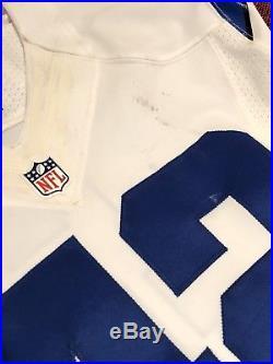 Dallas Cowboys Auto'ed Barry Church Game Worn Used Jersey, COA