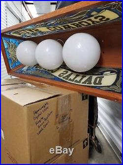 Dallas Cowboys Billiard Pool Table Light, Lamp