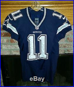 Dallas Cowboys Cole Beasley Game Worn / Game Used Jersey With Cowboys Letter