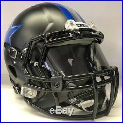 Dallas Cowboys Custom Authentic Riddell Speed Full Size Football Helmet CHROME