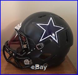 Dallas Cowboys Custom Concept Full Size Riddell Revo Speed Football Helmet