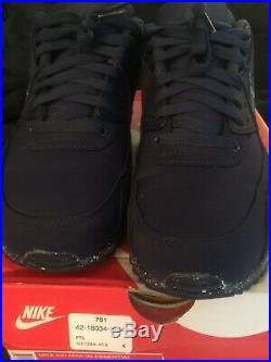 Dallas Cowboys Custom Nike Air Max Shoes Rare