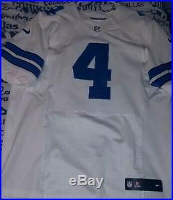 Dallas Cowboys Dak Prescott Nike Elite Jersey Size 48
