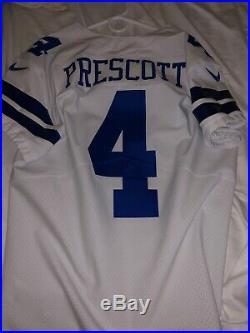dcd33002bdd Dallas Cowboys Dak Prescott Nike Vapor Elite authentic