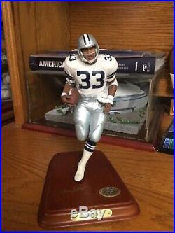 Dallas Cowboys Danbury Mint Tony Dorsett Rare Figurine