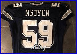 big sale e7d73 904ae Dallas Cowboys Dat Nguyen Nike game Issued 1997 Jersey Sz 50 ...