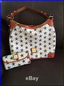 Dallas Cowboys Dooney & Bourke Hobo Purse & Matching Wallet