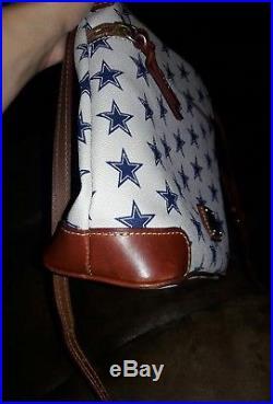 Dallas Cowboys Dooney & Bourke Medium Crossbody Purse