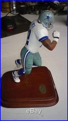 Dallas Cowboys Emmitt Smith NFL Danbury Mint Figure All Star. Free Shipping