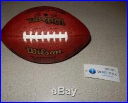 Dallas Cowboys Game Used Football 2002 Emmitt Smith Rushing Record Game Cowboys