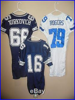 Dallas Cowboys Game Used Football Jersey