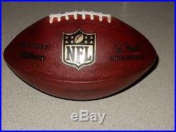 Dallas Cowboys Game Used Football Romo Dez Witten 2012 Thanksgiving COA