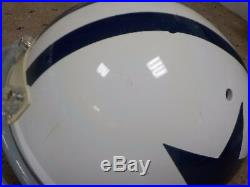 Dallas Cowboys Game Used Game Worn Throwback Helmet Terrell Owens L Robinson 81