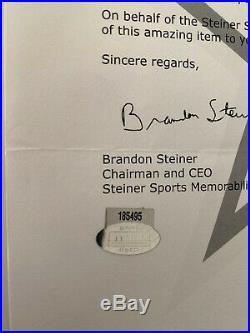 Dallas Cowboys Game Used Helmet Throwback Thanksgiving Steiner