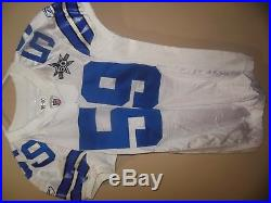 Dallas Cowboys Game Used NFL Football Jersey