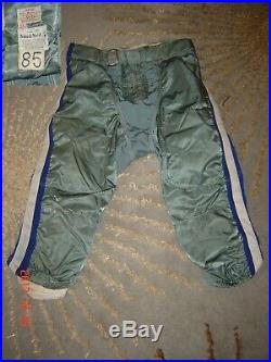 Dallas Cowboys Game Worn Used Durene Football Jersey & HOF Member Pants