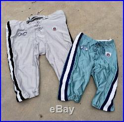 Dallas Cowboys Game Worn-game Used Away-5 Pants