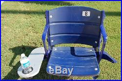 Dallas Cowboys Irving Texas Stadium Seat Chair Game USED COA Super Bowl Complete