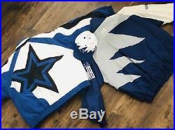 Dallas Cowboys Jackets Jersey Nike Deion Sanders 90s Vintage Sharktooth Hat