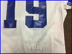 Dallas Cowboys John Jett 1994 Apex Vintage Game Used Worn Football Jersey