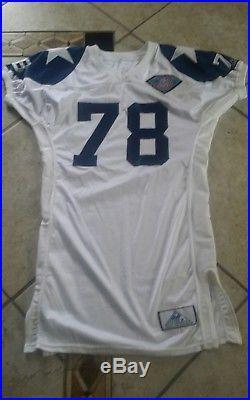 Dallas Cowboys Leon Lett 1994 Game Autographed Jersey