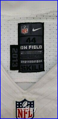 Dallas Cowboys MARK SANCHEZ Game Used Jan 1 2017 Football Jersey New York Jets