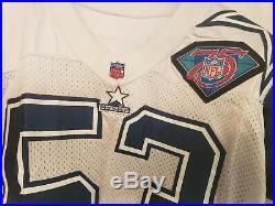 Dallas Cowboys Mark Stepnoski Game Jersey