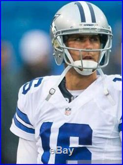 Dallas Cowboys Matt Cassel Game Used Dec 19 & 27 2015 Football Jersey 2 games