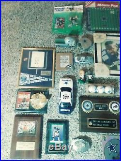 Dallas Cowboys Memorabilia LOT 30+ pieces Super Bowl 1990's NFL Football