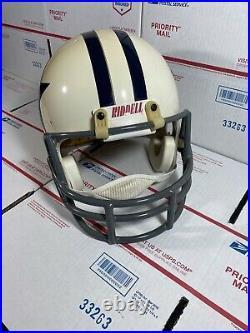 Dallas Cowboys NFL Full Size Throwback Riddell Vsr Helmet (read Fully)