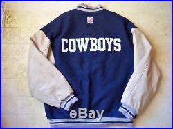 finest selection 84a20 e219e Dallas Cowboys Nike Varsity Wool/Leather Jacket/Coat-2XL ...