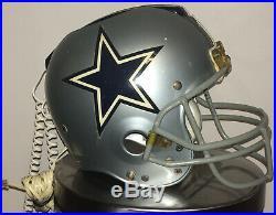 Dallas Cowboys Riddell Nardi Football Helmet Draft Day Phone No Wooden Base