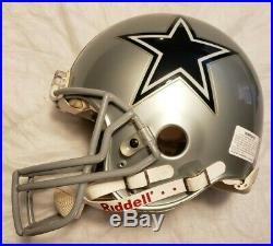 Dallas Cowboys Riddell Vsr-4 Authentic Full Size Football Helmet NFL Memorabilia