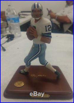 Dallas Cowboys Roger Staubach Danbury Mint Figure