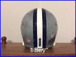 Dallas Cowboys Schutt Game Worn Used Helmet, Custom Troy Aikman