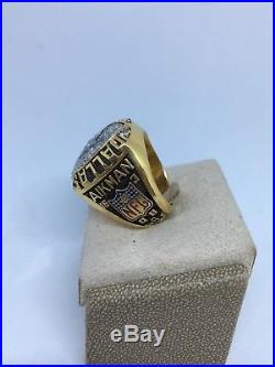 Dallas Cowboys Super Bowl XXVII Championship Ring