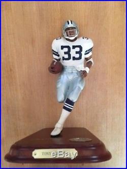 Dallas Cowboys Tony Dorsett Danbury Mint Figure NFL Rare Hof Rb
